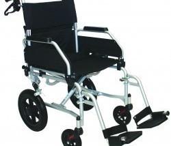 Chaise roulante de voyage.