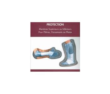 Housse de protection imperméable à l'eau, pour bras.