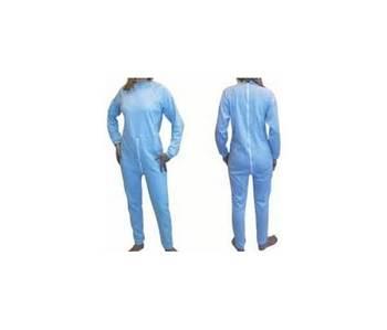 Pyjama avec fermeture éclair dans le dos