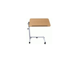 Table de lit ou fauteuil sur roulettes.