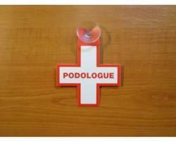 Caducée pour podologue