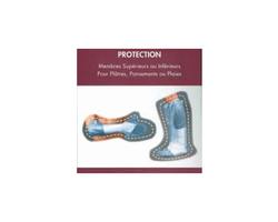Housse de protection imperméable à l'eau, pour jambe.